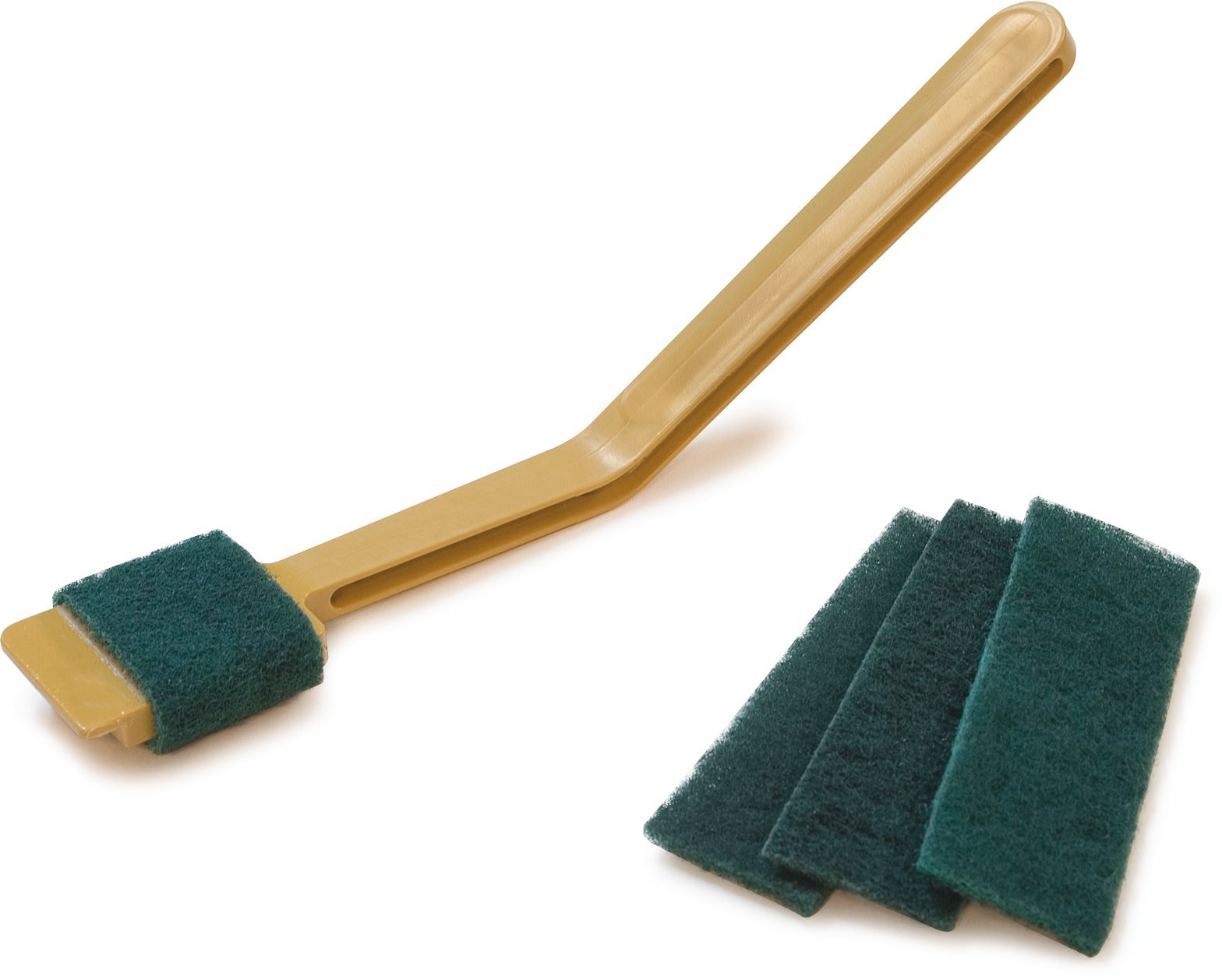Carlisle 4072908 Deli Slicer Scrub Pads, 4-1/2'' Length x 1.62'' Width, Green (Pack of 720) by Carlisle