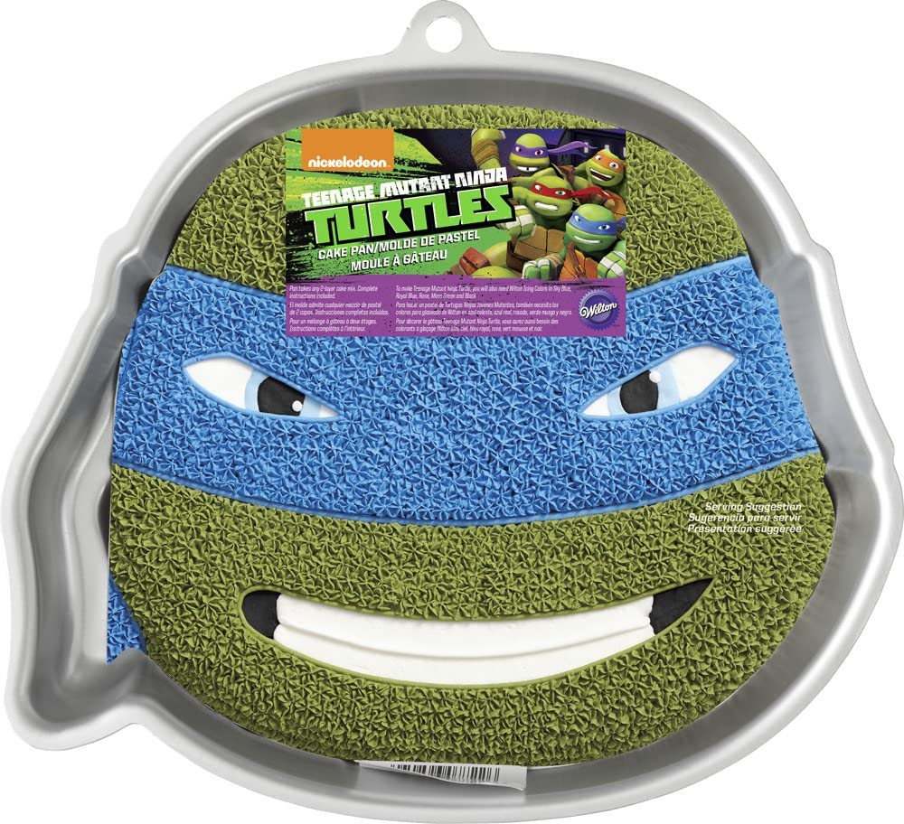 Pleasing Amazon Com Teenage Mutant Ninja Turtles Cake Pan Kitchen Dining Personalised Birthday Cards Petedlily Jamesorg