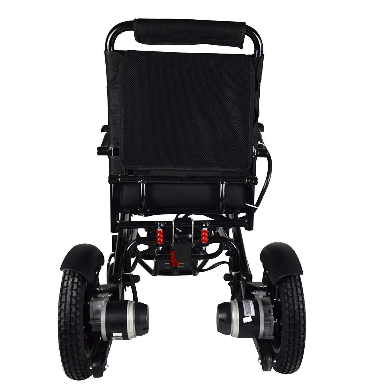 Amazon.com: 2019 New Remote Control Electric Wheelchairs Silla de Ruedas Electrica para Adultos FDA Approved Transport Friendly Lightweight Folding Electric ...