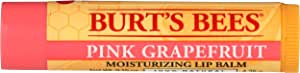 Burts Bees Pink Grapefruit Moisturizing Lip Balm, 4.25 g