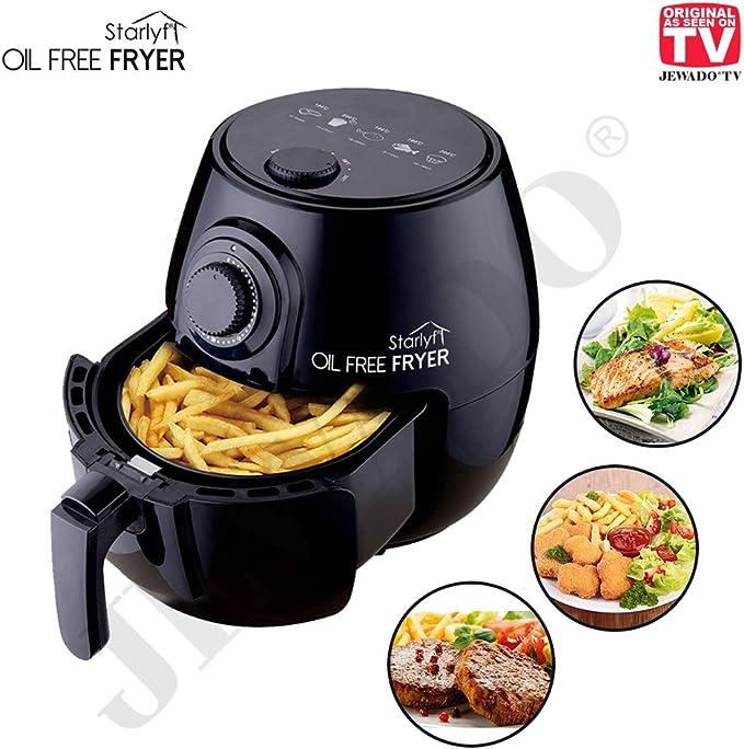 starlyf® Oil Free Fryer freidora de aire caliente cesta de freír con capacidad: 2,3 L – Bañera: 3,8 L – Original de TV de publicidad: Amazon.es: Hogar