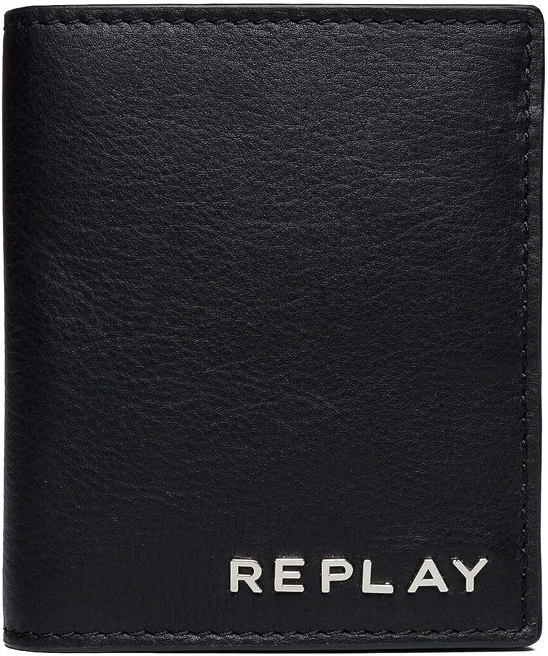 REPLAY ReplayFm5163.000.a3146HombreCarterasNegro (Black) 1x10,5x9 centimeters (B x H x T)
