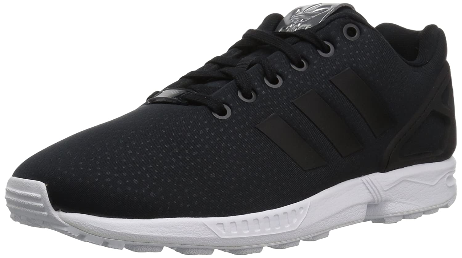 adidas Originals Women's ZX Flux W Running Shoe B01N7KFRHL 11 M US|Black/Black/Metallic Silver