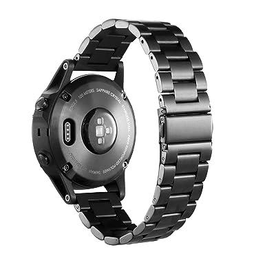 Correa de repuesto para reloj inteligente Garmin Fenix 5, CIDETTY de 22 mm, de