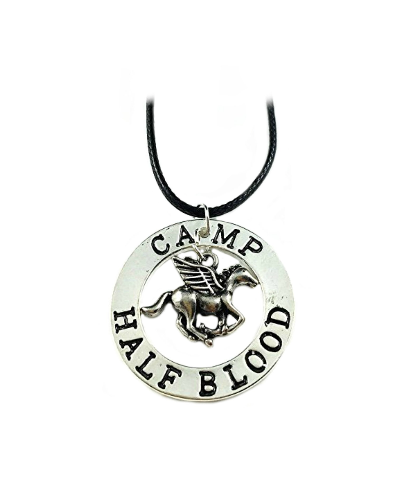 Percy Jackson Necklace Pendant - Camp Half Blood - Movies Books Cosplay Series by Athena Brands