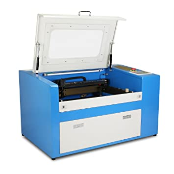 HPcutter Máquina de Grabado Láser Máquina de Grabado Laser Engraving Machine 50 W con Puntero Láser Rojo (50W): Amazon.es: Hogar