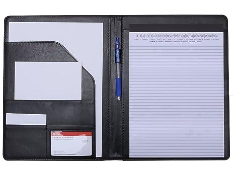 Amazoncom Padfolio Portfolio Resume Folder with Pocket Premium