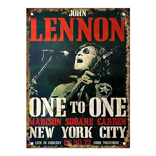 HALEY GAINES John Lennon New Your City Placa Cartel Póster ...
