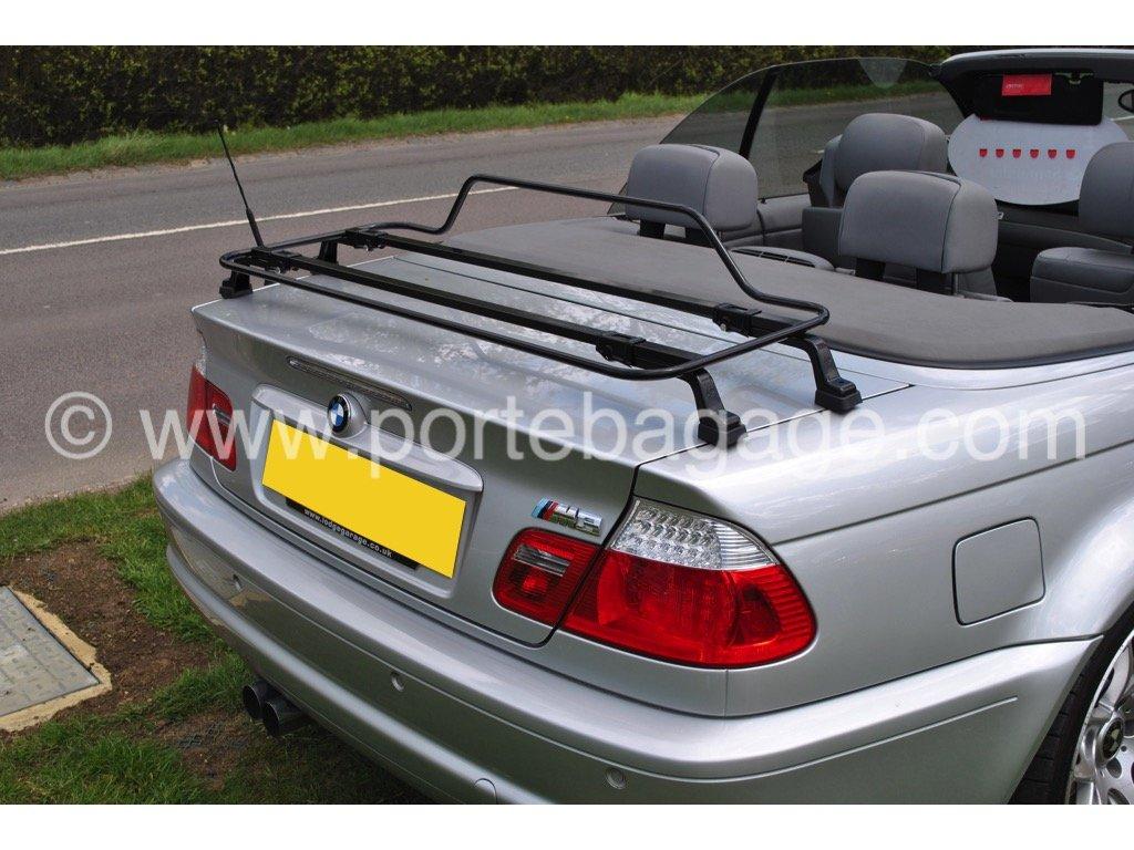 BMW Série 3 E46 porte-bagage-Noir-Support porte-bottes