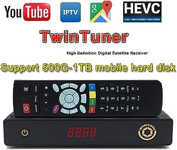 Best TV Plus + mgcam IPS2 Best HD LAN IKS Twin Tuner SKS PVR m3u IPTV Player H.264 & H.265 ACM MPEG4 & mpeg5 HD 1080P DVB-S2 Satellite Receptor. ...: Amazon.es: Electrónica