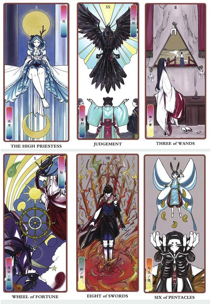 Amazon Com Kelunis Tarot Cards Japanese Traditional Tarot Deck For Fun Table Cards Game Collection Tarot Game Cards Board Games Set Home Kitchen Generosity, charity, community, material help, support, sharing, giving and receiving, gratitude. amazon com