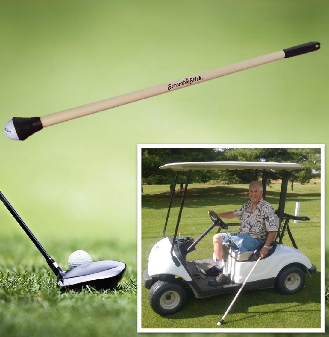 ScrambleStick The Original Golf Ball Retriever, Designed for Scramble Golf, 32-Inch