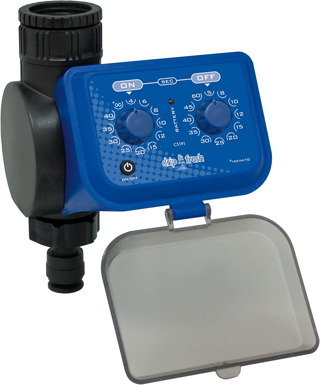 Drip & Fresh C5191 - Programador de Nebulización por Segundos - Apertura y Cierre por Membrana
