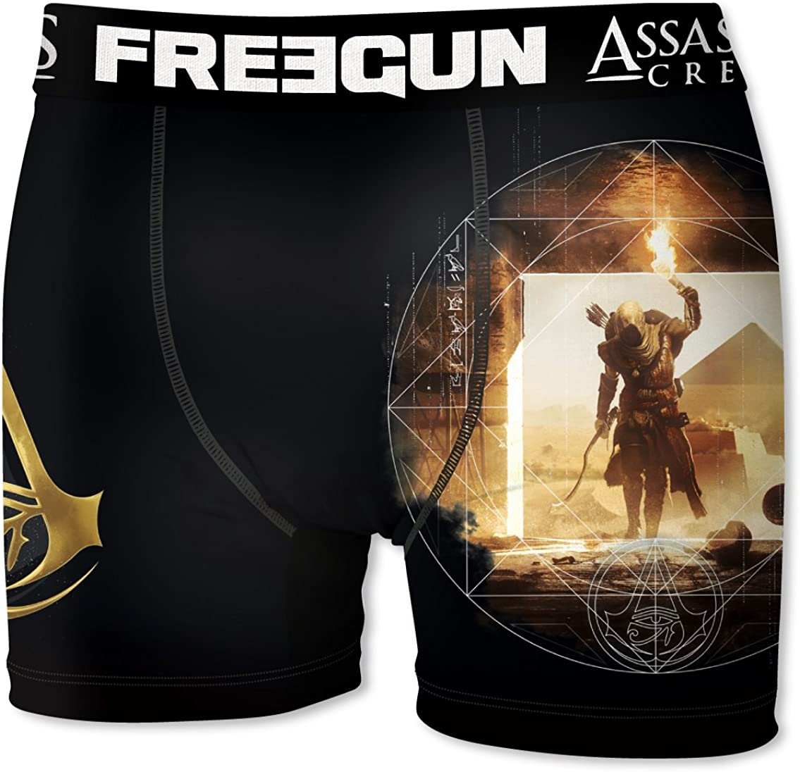 FREEGUN Bóxer para Hombre Assassin's Creed Origins