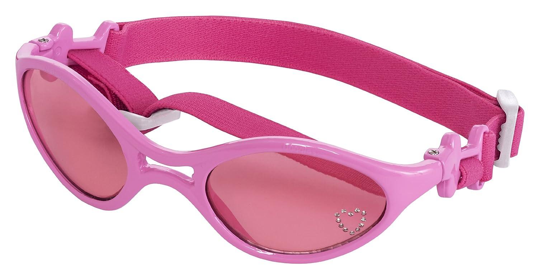 Doggles K9 Optix Goggles Gafas P/Perro Brillante Armazón Rosado/Lentes Rosas Med SGRBMD02