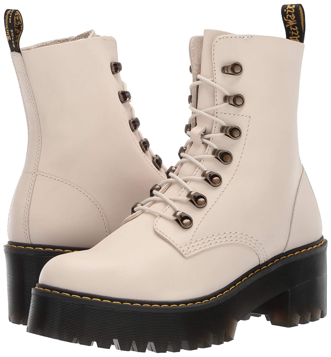 8c786eebc4 Amazon.com | Dr. Martens Women's Leona Fashion Boot | Mid-Calf
