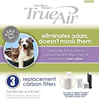 Hamilton Beach Replacement Carbon Pet Filter Works with TrueAir (04234G)
