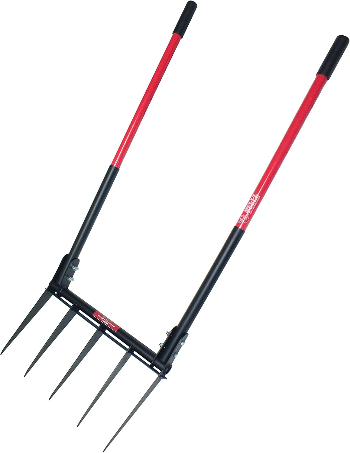 Bully Tools 92627 Broad Fork with Fiber Glass Handle