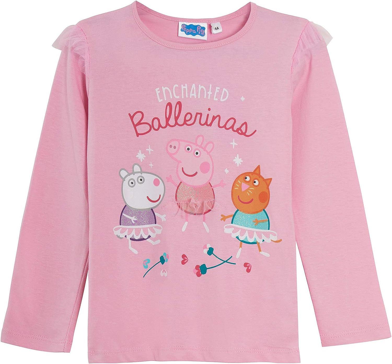 Peppa Pig Pigiama in cotone lungo per bambina