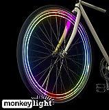 Monkey Light M204 Monkeylectric - 40 lúmenes - 8 colores - luces led para bicicleta