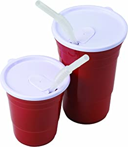 Red Cup Living 4524 Drinking Straws for 18 oz. Cup, 18 Ounce