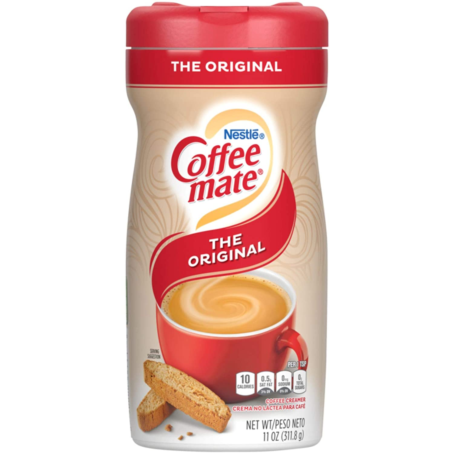 Nestle Coffee mate Coffee Creamer, Original, Powder Creamer, 11 Ounces