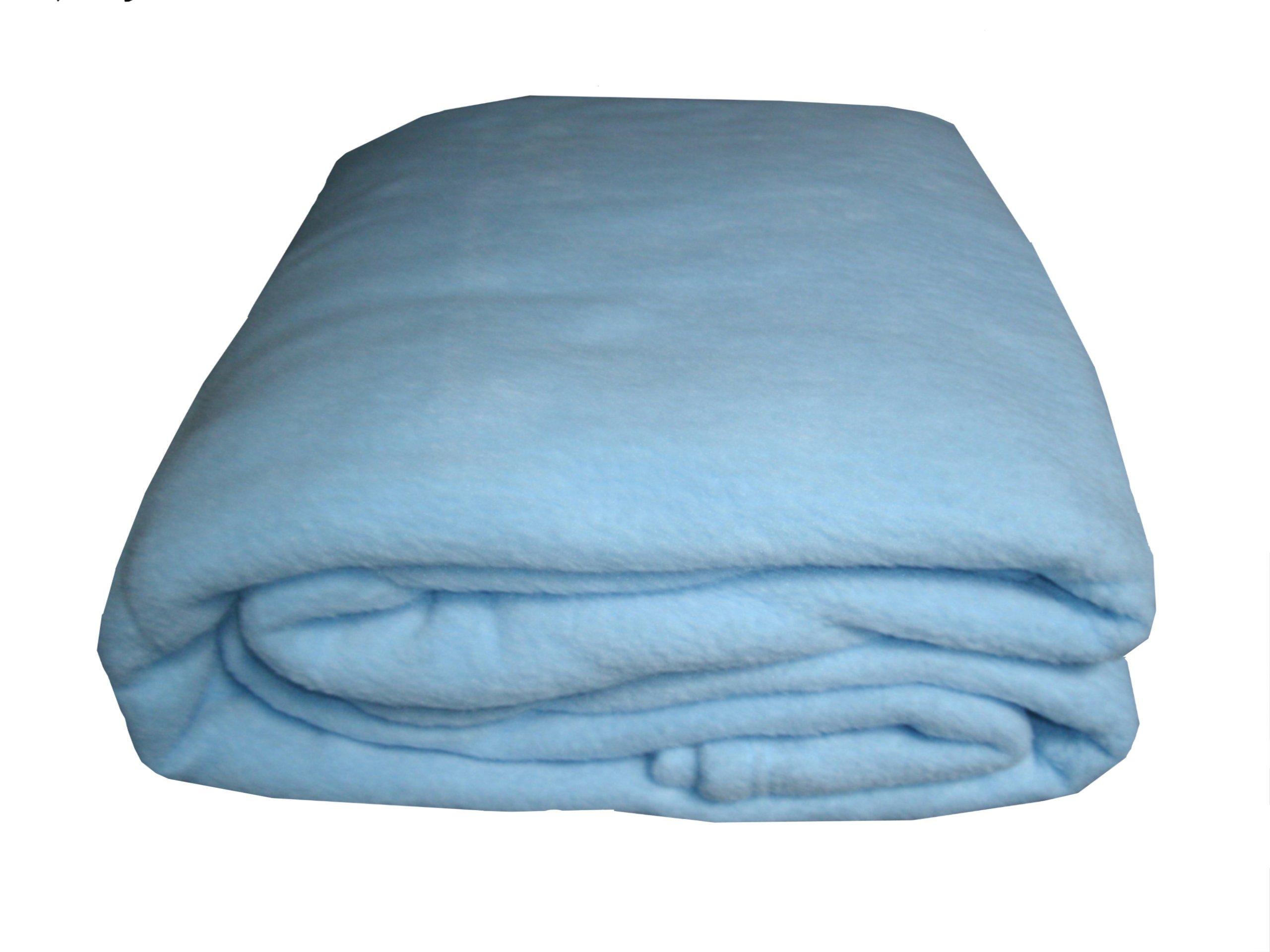 ALTA-Citi Comfort (ALTDJ) Luxury Hotel Fleece Blanket, King, Blue