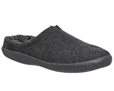 35d2135a86a TOMS Berkeley Slippers Black  Amazon.co.uk  Shoes   Bags