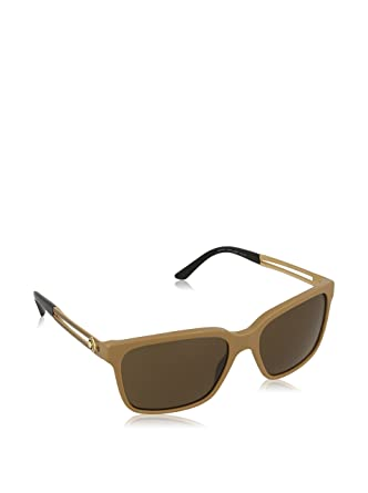 ebf500814181 Amazon.com: Versace 4307 516973 Beige 4307 Wayfarer Sunglasses: Clothing