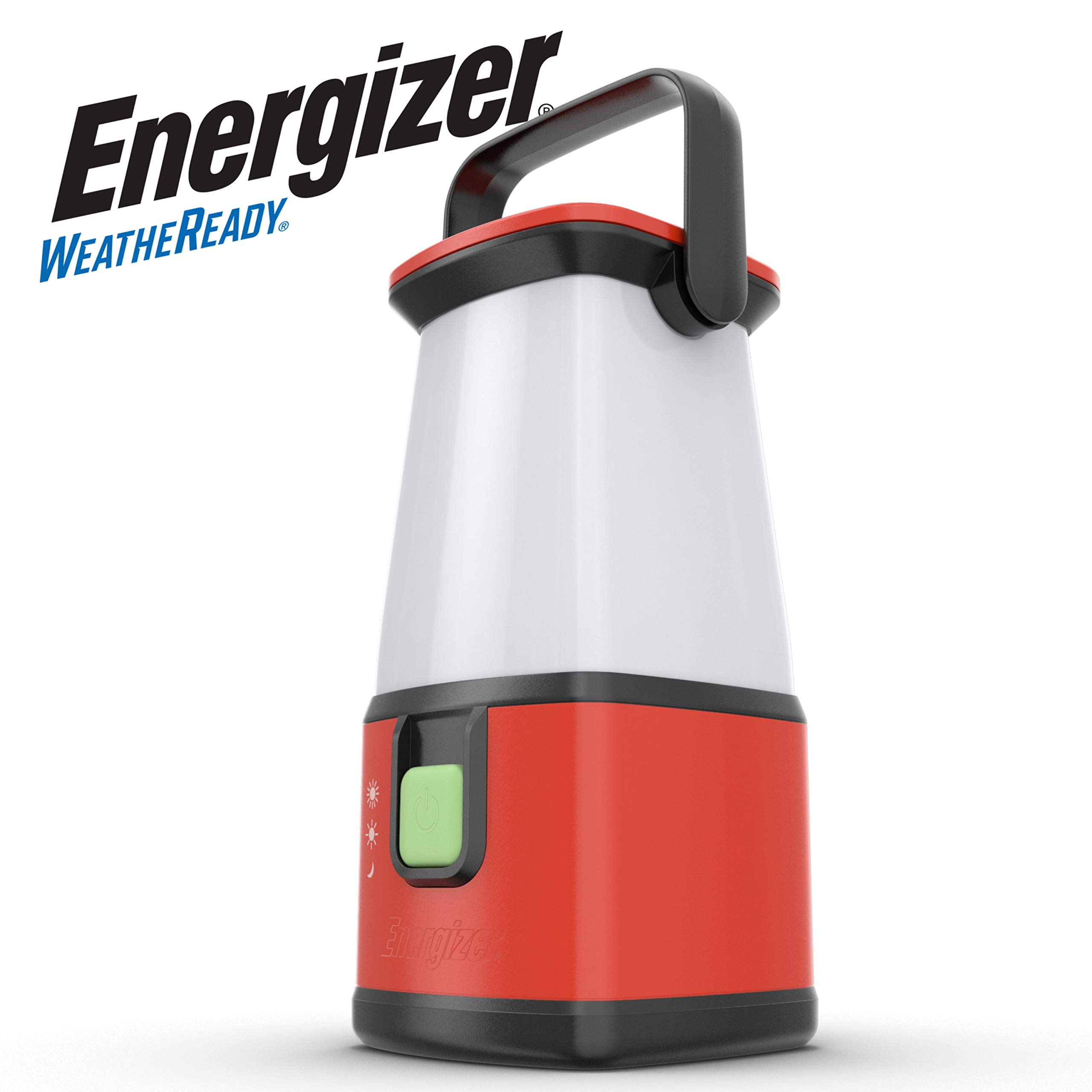 Energizer Camping Lantern Flashlight, Battery Powered LED Lanterns for Camping, Outdoors, Hurricane, Emergency Use, 500 Lumens Water Resistant Camping Light by Energizer Lighting