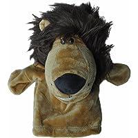 TOOGOO(R) Marionetas de mano animales de terciopelo de felpa lindo Diseno chic Juguete de ayuda de aprendizaje para ninos (Leon)