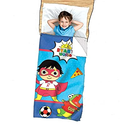 Jay Franco & Sons, Inc. Ryan's World 2-in-1 Cozy Cover & Slumber Bag: Sports & Outdoors