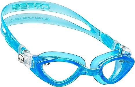 56dd980425c0 Cressi Occhialini da Nuoto a Oculari Separati, Antigraffio, Anti UV,  Acquamarina/Lenti