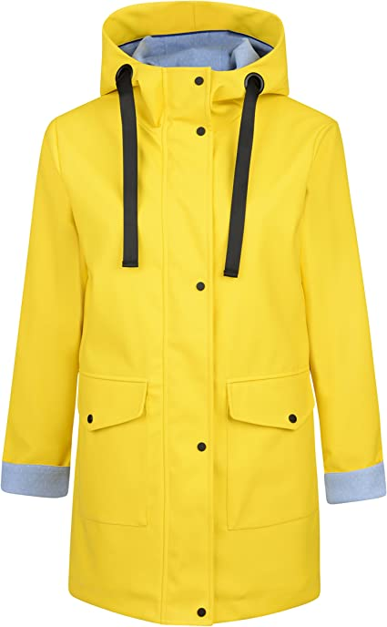 Charcoal Fashion Abrigo Impermeable - Parka - para Mujer