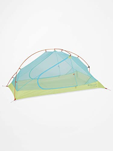 Marmot Unisex's Superalloy 2P Ultralight 2 Person, Small 2 Man Trekking, Camping Tent, Absolutely Waterproof, Green Glow