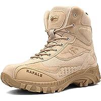 AUTOECHO Desert Boots - Zapatos De Combate De Comando Masculino del Ejército, Zapatos De Senderismo Al Aire Libre para…