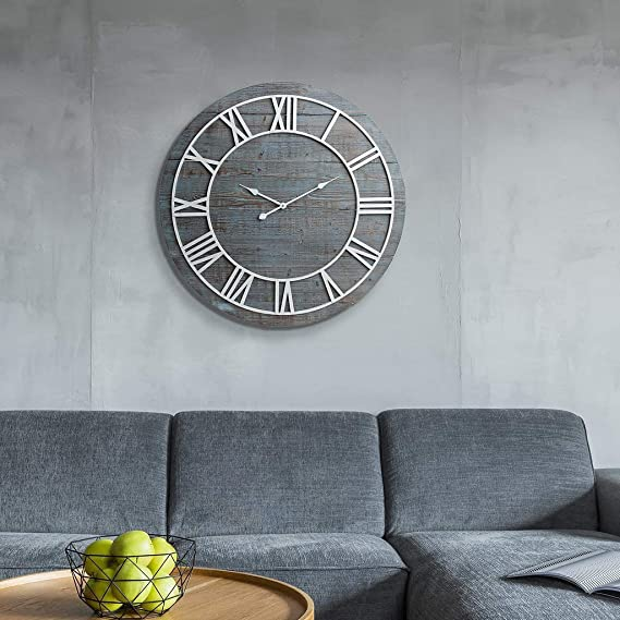 Amazon.com: Zmsdt American Style Bar Cafe Wall Clock Home Living Room Silent Wall Clock: Home & Kitchen