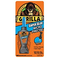 Deals on Gorilla Micro Precise Super Glue 6770002 5-g