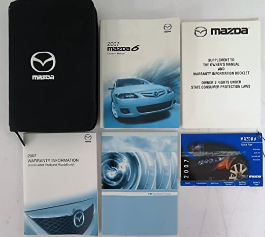 2007 mazda 3 owners manual rh amazon com mazda 6 service manual 2007 2007 Mazda 6 Transmission