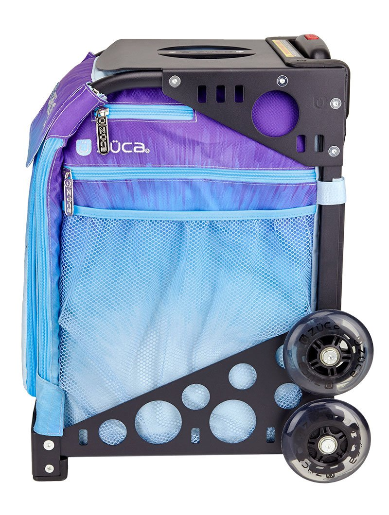 Zuca Ice Dreamz Sport Insert Bag and Navy Blue Frame with Flashing Wheels by ZUCA (Image #3)