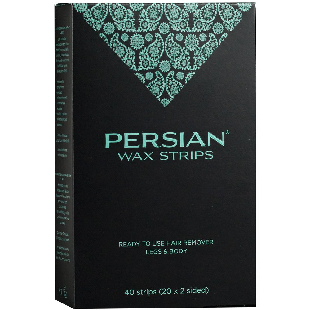 Persian Legs and Body Wax Strips - Pack of 40 Strips Parissa CSB
