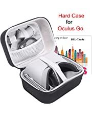 Triwin Case for Oculus Go, Hard EVA Carry Bag Storage Box for Oculus Go Standalone Virtual Reality Headset and for its Accessories