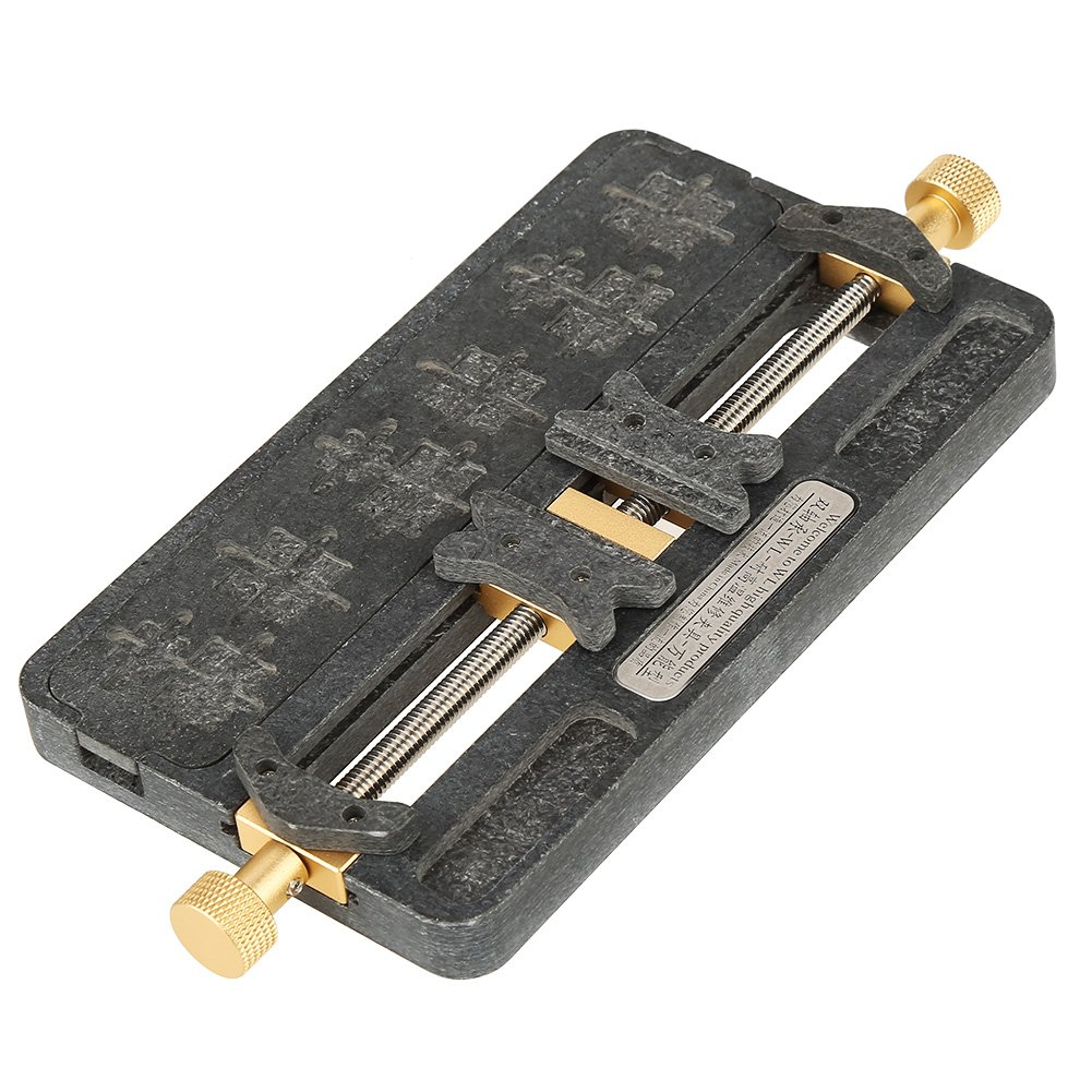 PCB Holder,1pc Fixture IC Chip Soldering PCB Fixing Holder Phone Repair Clamping Tool for Mobile Phone,BGA Fix Repair Mold Board NAND by Walfront (Image #8)