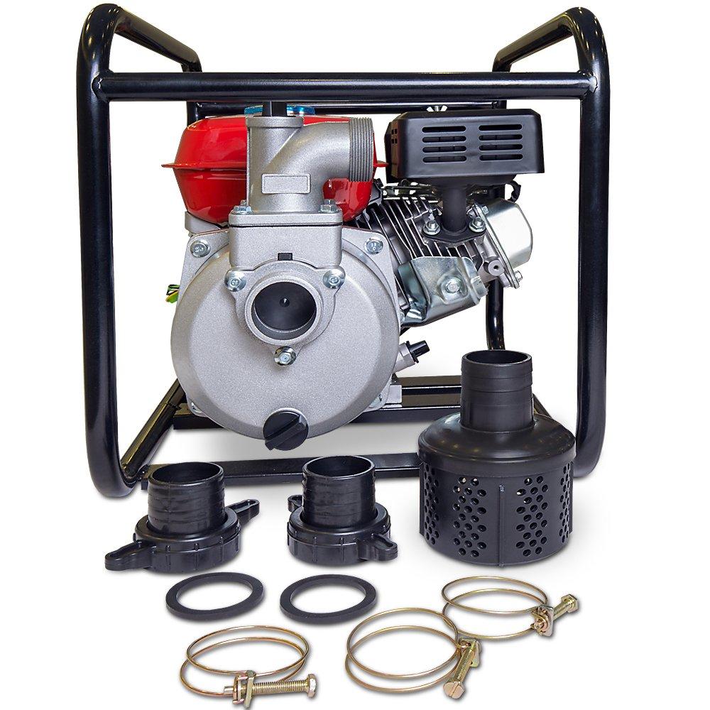 Gartenxl 2 Benzin Wasserpumpe Ltp50c 30 000 L H 6 7ps 208ccm Benzinmotor Gartenpumpe Motorpumpe Schmutzwasserpumpe Teichpumpe Amazon De Gewerbe Industrie Wissenschaft