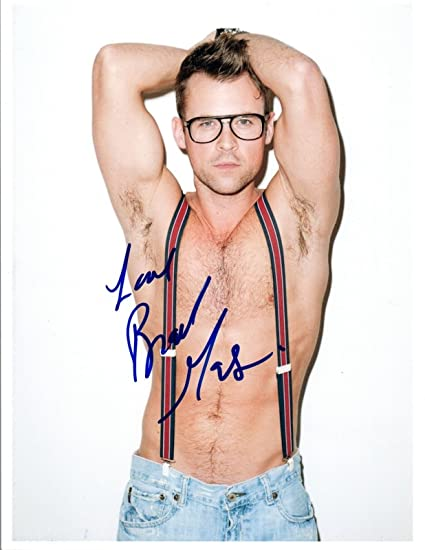 Brad Goreski Signed Autograph 8x10 Photo Fashion Police Shirtless Gay Int Coa Vd At Amazons Entertainment Collectibles Store