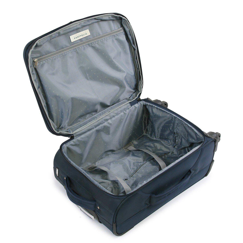 Navy Perry Ellis Luggage PE-EV-B2900-2-NY Perry Ellis 2 Piece Fortune Lightweight Luggage Set