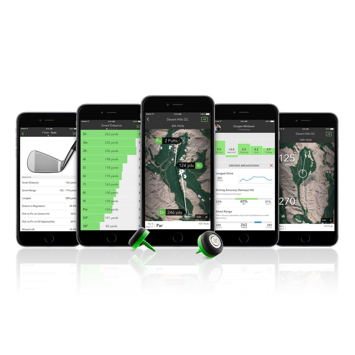 Arccos Golf 360 Golf Performance Tracking System by Arccos Golf (Image #4)