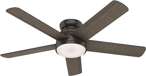 Hunter Fan Company 59482 Romulus Ceiling Fan, 54, Noble Bronze