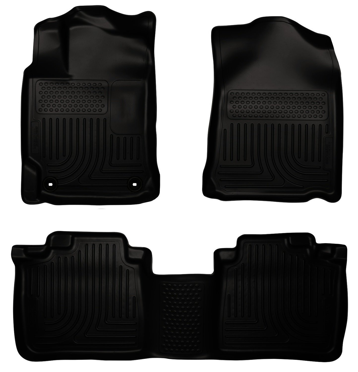 Amazon.com: Husky Liners Front & 2nd Seat Floor Liners Fits 12-17 Camry:  Automotive