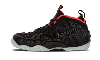 Nike Air Foamposite Pro 'Yeezy' Men's Shoes Black/laser Crimson 616750-001